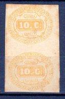 ITALIE - 1863 - TIMBRES TAXE N° 1  En Paire - 1861-78 Victor Emmanuel II.