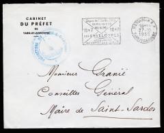 A2605) France Frankreich Dienstbrief Von Tarnet Garonne 27.10.1955 - Frankreich
