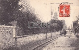 CPA De LIGRON (72) - Entrée Du BOURG - ANIMATIONS - édit G. THIBAULT - Autres Communes