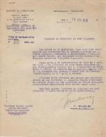 Tracteurs/Agriculture/Réponse Ministre De L´Agriculture à Demande D´intervention/PFIMLIN/1949   AC72 - Tracteurs