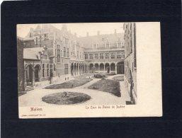 46014    Belgio,    Malines,  La  Cour Du  Palais  De  Justice,  NV - Belgio