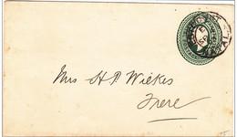 NATAL - 1903 - ENVELOPPE ENTIER POSTAL De ESTCOURT (RARE) - Natal (1857-1909)
