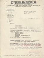 Tracteurs/Agriculture/Lettre D'offre De Vente D'une Tracteur /Compagnie BOLINDER'S/Clichy/Seine/1948   AC71 - Tracteurs