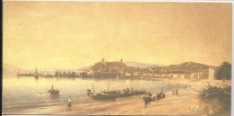VUE DE CANNES EN 1860, Adolphe FIOUPOU - Peintures & Tableaux