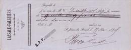 AVEYRON - SAINT JEAN DU BRUEL - LASSALE-FALGUIERE ST JEAN DU BRUEL LE 15-5-1905. - Lettres De Change