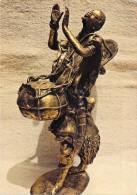 Afrique (Burkina Faso ) HAUTE VOLTA OUAGADOUGOU Batteur De Tam Tam (statuette  Bronze - Musique Rythme) *PRIX FIXE - Burkina Faso