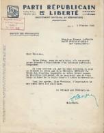 Tracteurs/Agriculture/Lettre De Recherche D'appui Obtention Tracteur/ PRL/Ministre BETOLAUD/1949   AC73 - Tractors