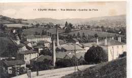 """COURS """" Vue Générale """" Quartier De L'Isle"""" - France"""