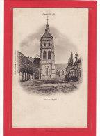 DAMVILLE (27) / EDIFICES / EGLISES / Tour De L'Eglise / Précurseur - Autres Communes