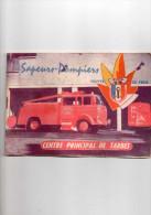 Calendrier Des Pompiers De TARBES, 1963 (vxp) - Calendriers