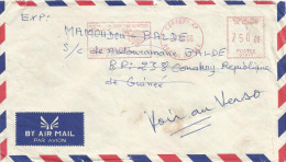 Guinee Guinea 1996 Conakry RP Meter Franking Satas Post Office Stamp G1842 EMA Cover - Guinee (1958-...)