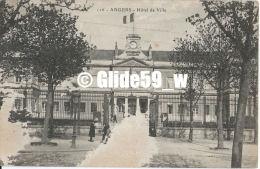 ANGERS - Hôtel De Ville (animée) - N° 126 - Angers