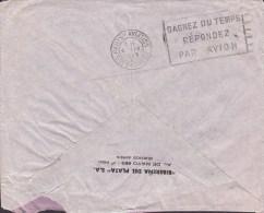 Argentina RIBERENA DEL PLATA, BUENOS AIRES 1939 Cover Letra To BRAUNSCHWEIG Germany Via PARIS AVIATION (2 Scans) - Luftpost