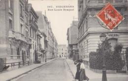 94 VINCENNES  Beaux Immeubles Bourgeois  Femmes Elegantes Rue Louis BESQUEL  1914 - Vincennes