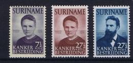 Suriname 1950 NVPH 281-283 MH/* - Suriname ... - 1975
