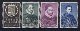 Netherlands: NVPH 252-255, MNH/** 1933 - Ongebruikt