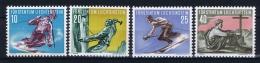 Liechtenstein: Mi  334 - 337  , 1955 MNH/** - Liechtenstein