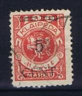 Deutsche Reich: Memel 180 Used - Klaipeda