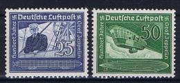 Deutsche Reich: Mi 669 - 670 MNH/** - Luftpost