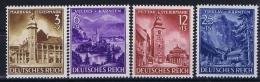 Deutsche Reich: Mi 806 - 809 MNH/** - Deutschland