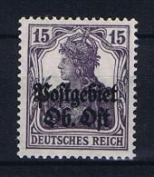 Deutsche Reich: Postgebiet Ost, Mi 6 MNH/** - Besetzungen 1914-18