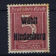 Deutsche Reich : Wählt Hindenburg Briefmark - Poste Privée