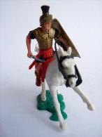 TIMPO TOYS - BRITAIN - CAVALIER ROMAIN A CHEVAL AVEC GLAIVE ET BOUCLIER
