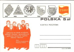 1983 - POLONIA POLSKA POLAND - KARTKA POCZTOWA - NUOVA - Stamped Stationery