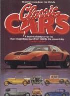 THE ENCYCLOPEDIA OF THE WORLD'S CLASSIC CARS G.ROBSON TIGER BOOKS LONDON BIG FORMAT - Libri, Riviste, Fumetti