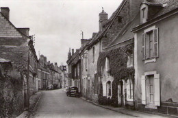 Morannes..la Grande Rue..voitures..4 CV Renault - Sonstige Gemeinden