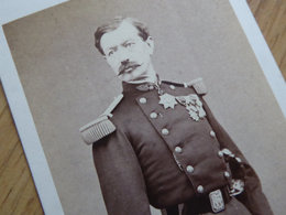 GENERAL Jean-François HENRION BERTIER (1817-1901) Maire De NEUILLY SUR SEINE - Photo CDV - Identified Persons