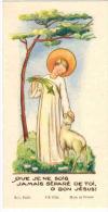 IMAGE PIEUSE ENFANT Illustrateur   : Souvenir AYRIVIE Marie Christine Cours Fénélon BEZIERS Que Je Ne Sois Jamais Séparé - Andachtsbilder