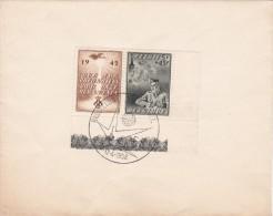 A27 - Enveloppe Souvenir - Cob 602-602A - Vente Par Souscription Au Profit Des Prisonniers De Guerre - Belgium Old Cover - FDC