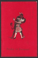 KRAMPUS - DEVIL, Year 1936 - Christmas