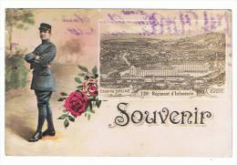 19- Brive -caserne Brune 126em Régiment D'infanterie - Brive La Gaillarde