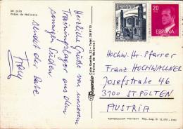 Palma De Mallorca, 2 Sondermarken - 1981-90 Briefe U. Dokumente