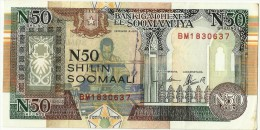 SOMALIA 50 SHILLINGS 1991 - Somalia