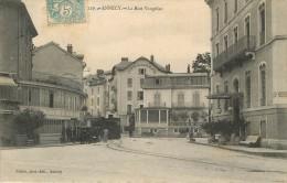 Annecy 74 Haute Savoie  Rue Vaugelas Pittier Tramway  De Thônes Hôtel Verdun - Annecy