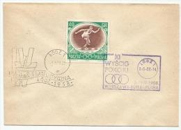 Poland Pologne, 11th Peace Race, Cycling, Friedensfahrt, Course De La Paix. Lodz 1958. - Ciclismo