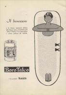 # BOROTALCO MANETTI & ROBERTS Florence 1950s Advert Pubblicità Publicitè Reklame Firenze Talc Talcum Powder Cosmetics - Ohne Zuordnung