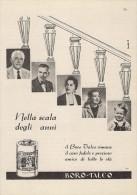 # BOROTALCO MANETTI & ROBERTS Florence 1950s Advert Pubblicità Publicitè Reklame Firenze Talc Talcum Powder Cosmetics - Perfume & Beauty
