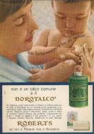 # BOROTALCO MANETTI & ROBERTS Florence 1960s Advert Pubblicità Publicitè Reklame Firenze Talc Talcum Powder Cosmetics - Unclassified
