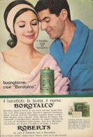 # BOROTALCO MANETTI & ROBERTS Florence 1960s Advert Pubblicità Publicitè Reklame Firenze Talc Talcum Powder Cosmetics - Ohne Zuordnung