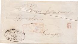 """G)1830 MEXICO, """"ADMINISTRACIÓN GENERAL DE TABACOS DE QUERETARO""""(TOBBACO) SEAL, QUERETARO MARK, 6 REALES, CIRCULATED COVE - Mexico"""