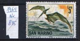 San Marino 1965. Animals / Birds Stamp MNH (**) - Birds