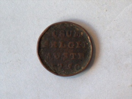 BELGIQUE PAYS BAS AUTRICHIEN AD USUM BELGII AUSTR 1 LIARD 1750 - [ 1] …-1795 : Former Period