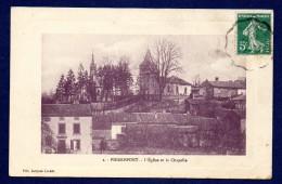 54. Pierrepont. L'église Saint Côme Et La Chapelle De La Famille Seillère. 1912 - Autres Communes