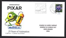 6.- 045 GERMANY 2012. 25 YEARS OF ANIMATION. PIXAR ANIMATION. WALT DISNEY. - Cinéma