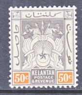 KELANTAN  8   *   Wmk.  3 - Kelantan