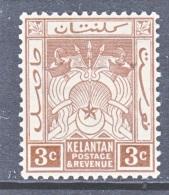 KELANTAN  18   *   Wmk.  4 - Kelantan